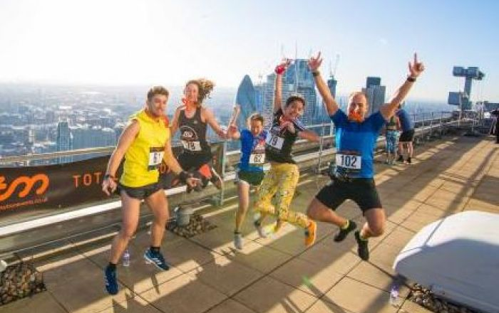 Are you ready to take The Broadgate Tower Run Up?