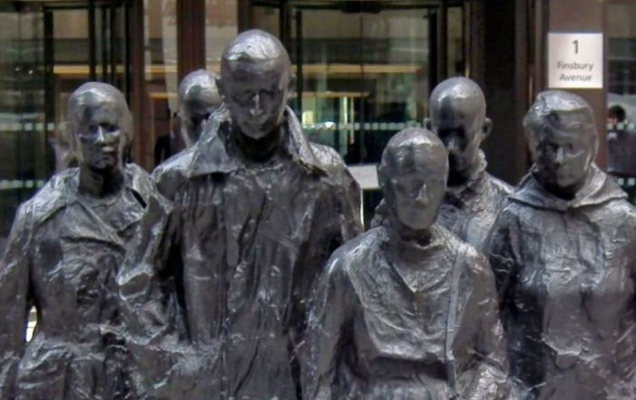 Discover the Talking Statues of Broadgate