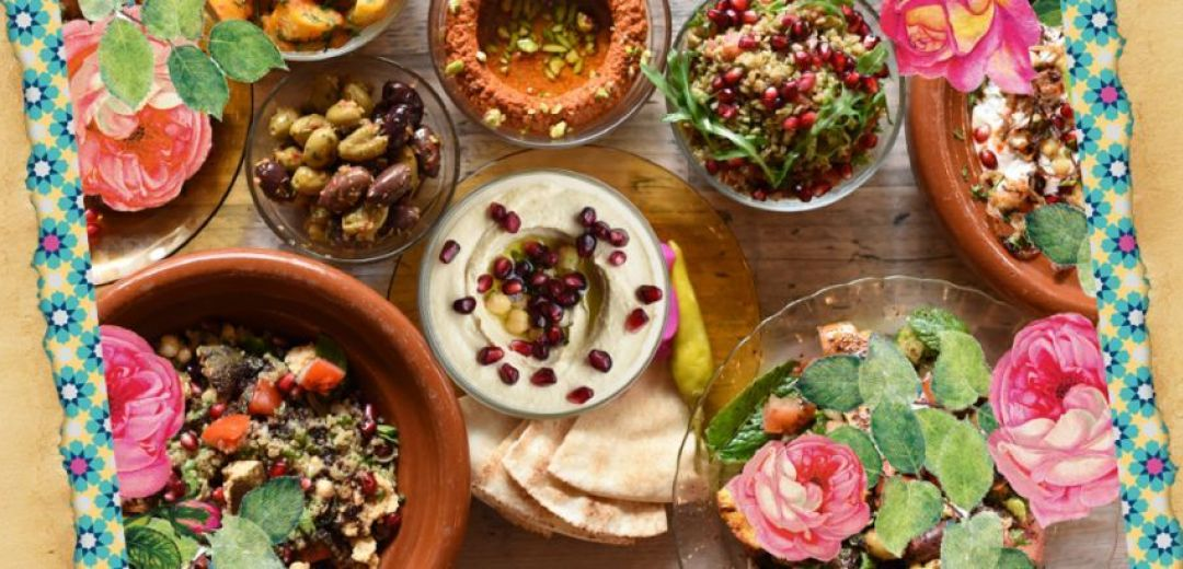 Menu of Comptoir Libanais