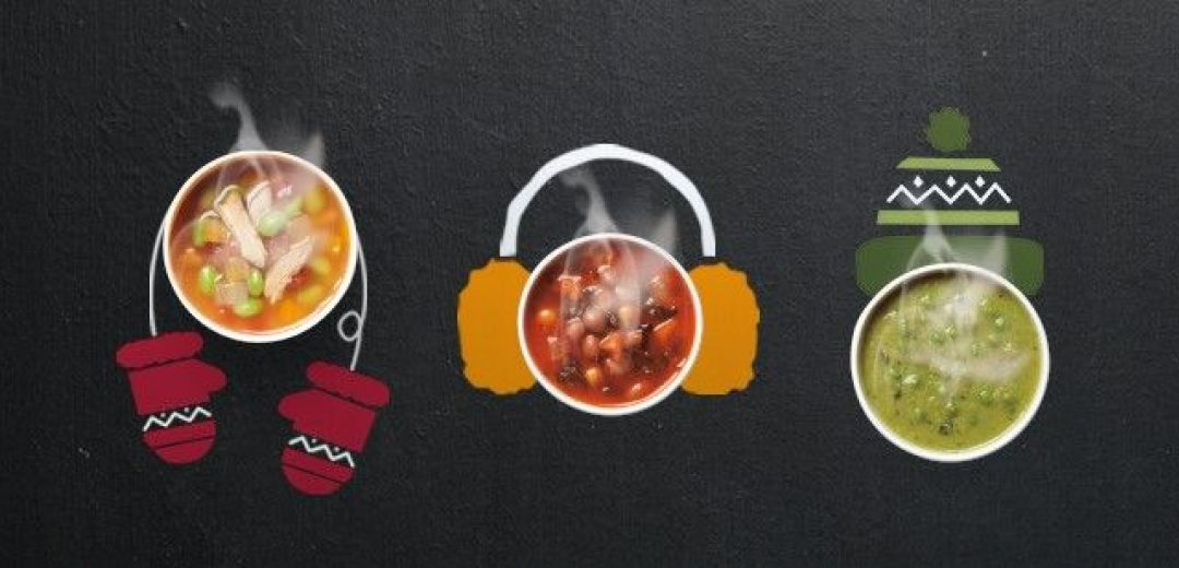 Warm up with Pret's winter soups