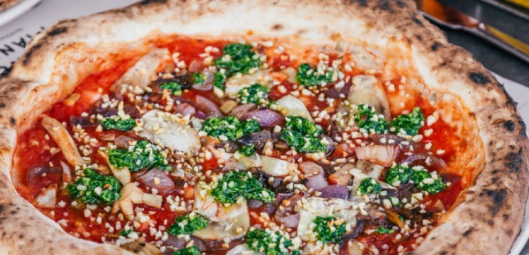 Franco Manca's new pizza, perfect for Veganuary
