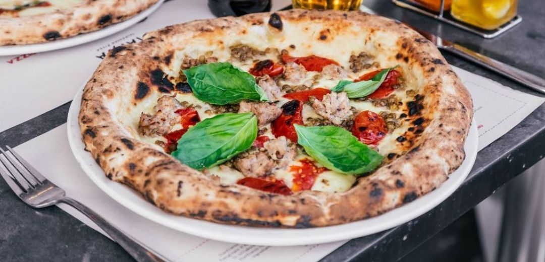 Try the new No.7 Pizza from Franco Manca