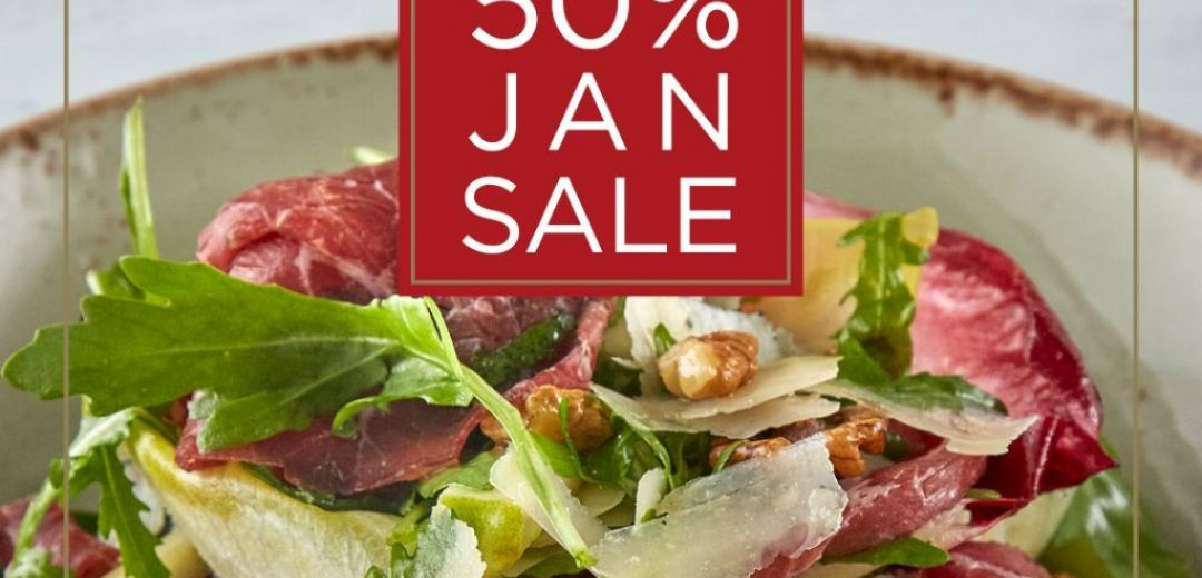 50% off for Club Individual members this January