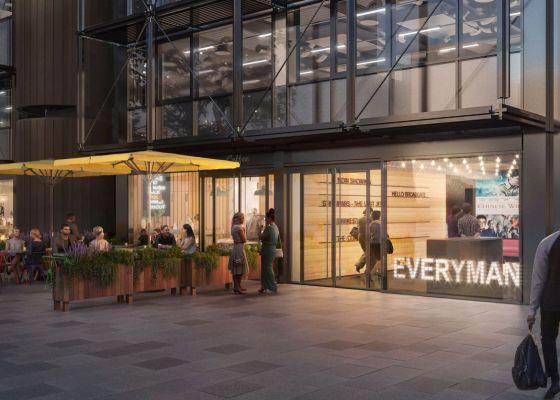British Land brings Everyman cinema to Broadgate