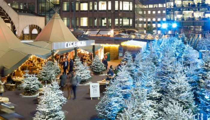 The Winter Forest: Broadgate's fairytale pop-up