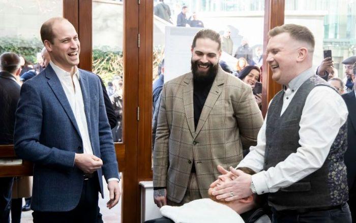 Paddington Central Welcomes The Duke of Cambridge